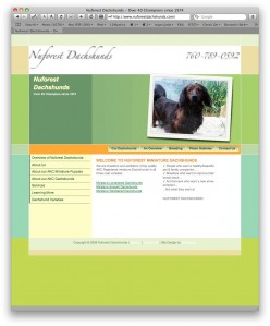 NuforestDachshunds.com